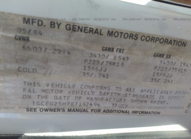 Chevrolet G20 for Sale