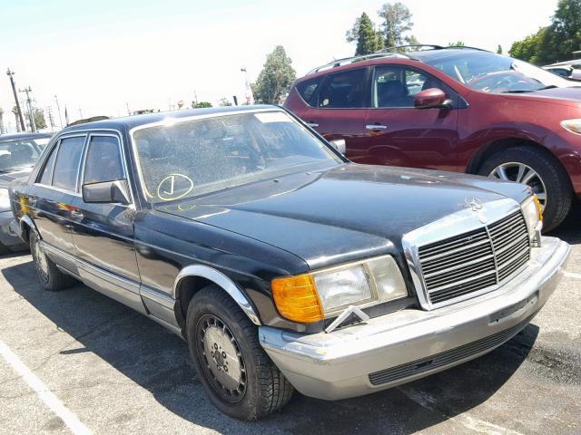 Salvage Car Mercedes-Benz 560 1987 Black for sale in VAN NUYS CA