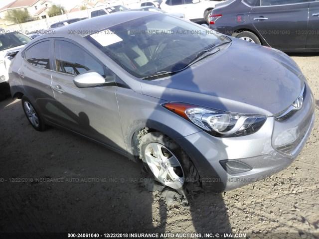 Salvage Car Hyundai Elantra 2011 Gray For Sale In Phoenix Az Online