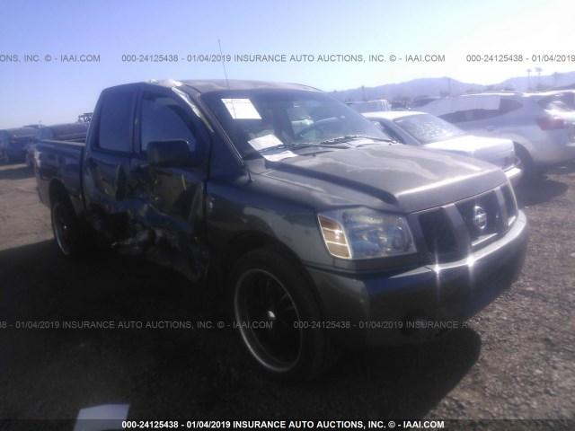 Salvage Car Nissan Titan 2006 Gray For Sale In Phoenix Az Online