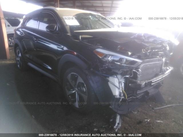 Salvage Car Hyundai Tucson 2017 Black For Sale In Phoenix Az Online