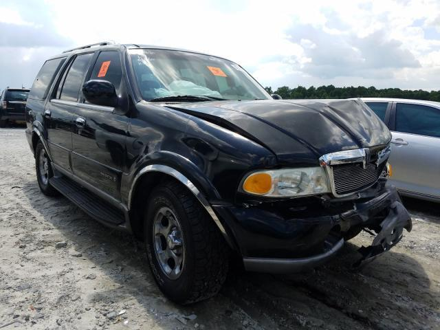 salvage car lincoln navigator 2002 black for sale in loganville ga online auction 5lmfu28r22lj09180 ridesafely