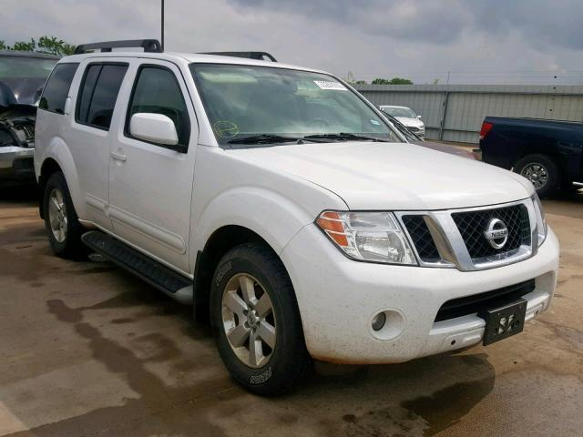 2012 Nissan Pathfinder For Sale >> Salvage Car Nissan Pathfinder 2012 White For Sale In Wilmer Tx