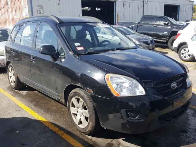 salvage car kia rondo 2008 black for sale in chicago heights il online auction knafg525187184201 ridesafely