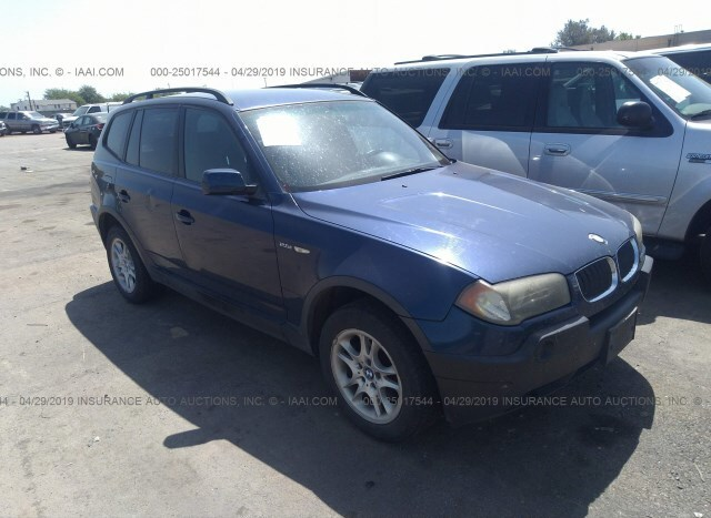 Auction Ended Used Car Bmw X3 2004 Blue Is Sold In Rancho Cordova