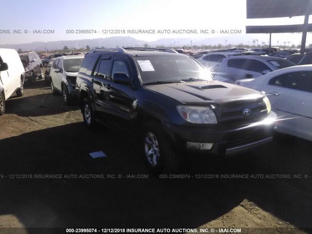 Salvage Car Toyota 4runner 2003 Dark Blue For Sale In Phoenix Az