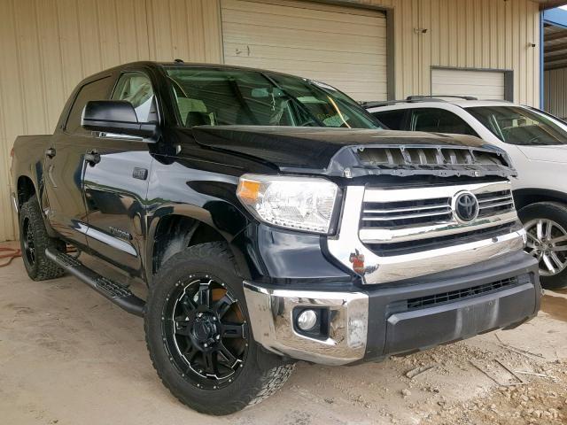 2016 Toyota Tundra For Sale >> Salvage Car Toyota Tundra 2016 Black For Sale In San Antonio