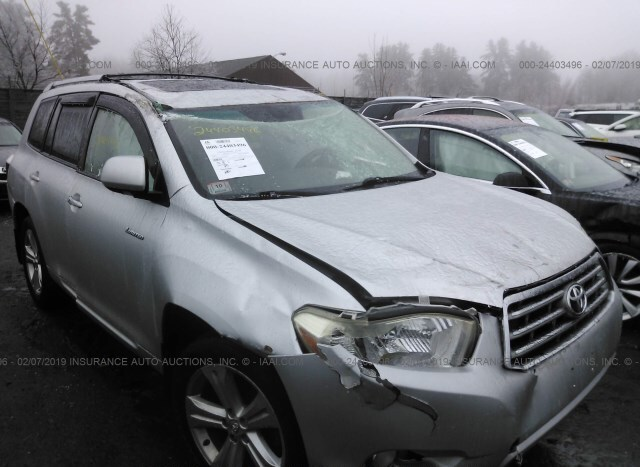 2008 Toyota Highlander For Sale >> Used Car Toyota Highlander 2008 Silver For Sale In Shirley