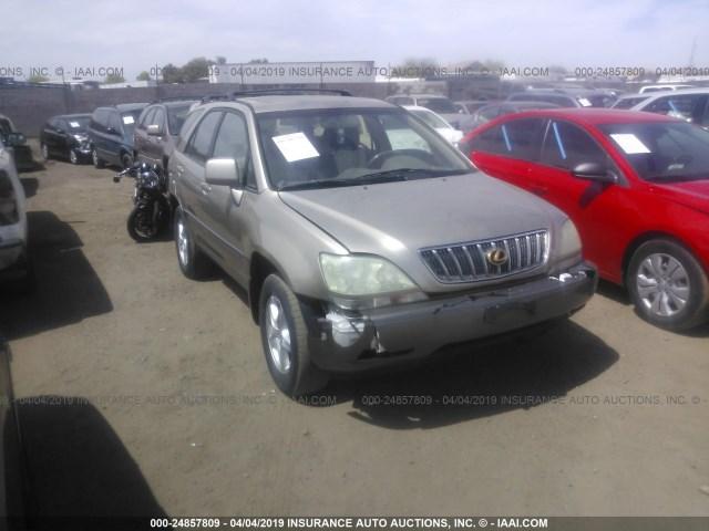 Used Car Lexus Rx 300 2003 Gold For Sale In Phoenix Az Online