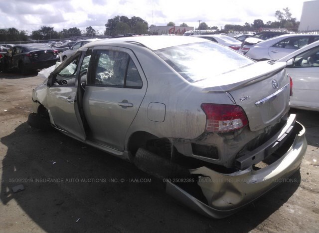 Car Auctions In Nc >> Salvage Car Toyota Yaris 2008 Green For Sale In Charlotte Nc
