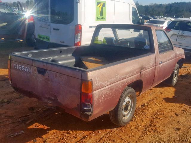 Used Car Nissan Pickup 1987 Orange for sale in AUSTELL GA
