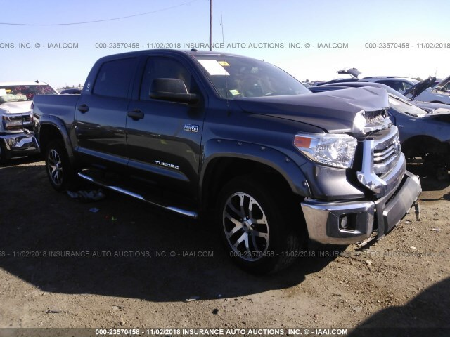 Corpus Christi Subaru >> Salvage Car Toyota Tundra 2016 Gray for sale in Corpus ...