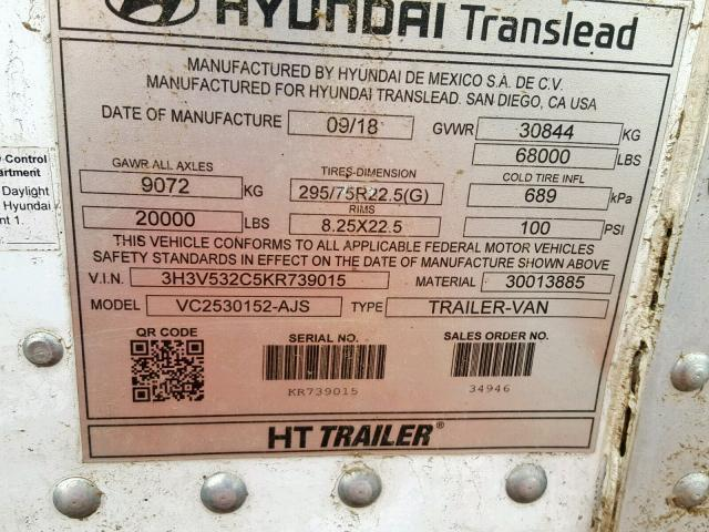Hyundai Trailer for Sale