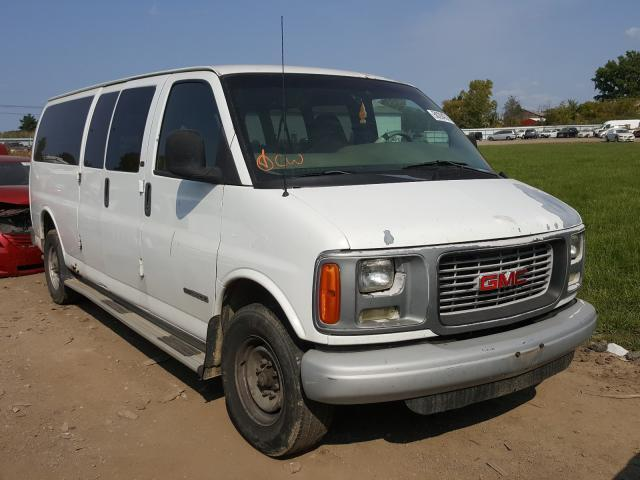 salvage car gmc savana 2001 white for sale in columbia station oh online auction 1gkhg39r511225337 ridesafely