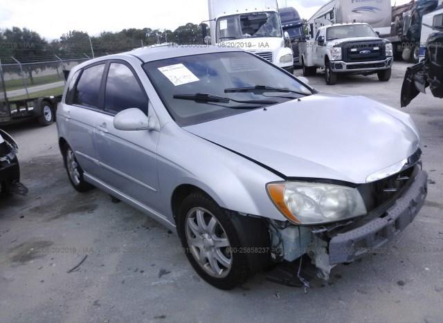 Kia Fort Pierce >> Salvage Car Kia Spectra5 2006 Silver For Sale In Fort Pierce