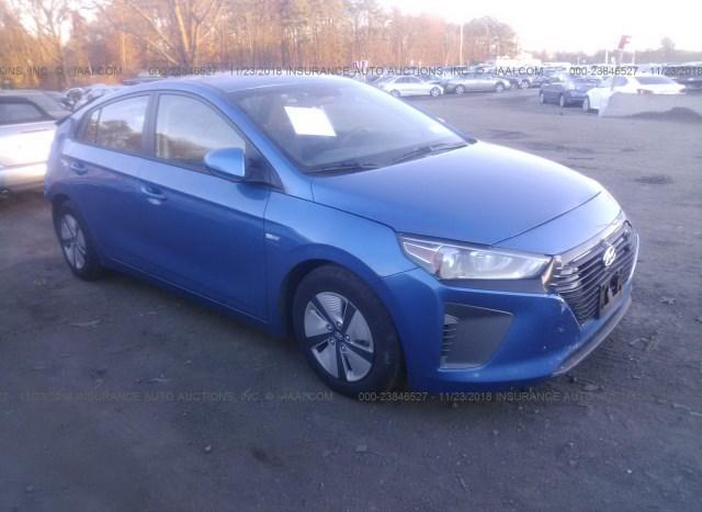 Car Auctions Ny >> Salvage Car Hyundai Ioniq 2018 Blue For Sale In Medford Ny