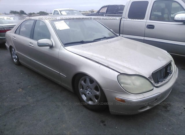 Used Car Mercedes Benz S Class 2001 Gold For Sale In Rancho Cordova