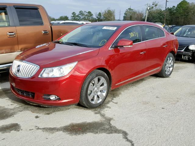 Salvage Car Buick Lacrosse 2011 Maroon for sale in SAVANNAH GA online auction 1G4GC5GD8BF150767