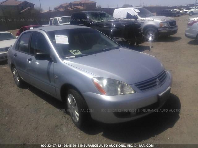 Salvage Car Mitsubishi Lancer 2006 Gray For Sale In Phoenix Az