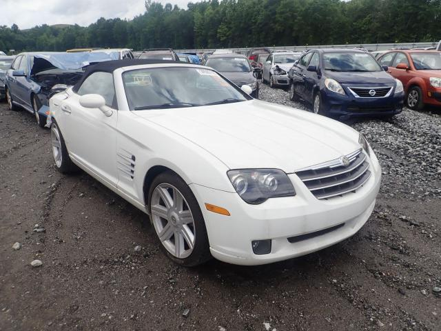 Crossfire For Sale >> Salvage Car Chrysler Crossfire 2005 White For Sale In