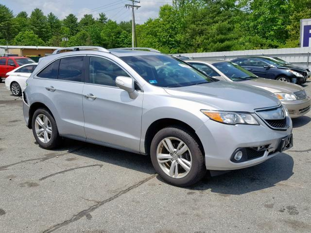 2015 Acura Rdx For Sale >> Salvage Car Acura Rdx 2015 Silver For Sale In Exeter Ri