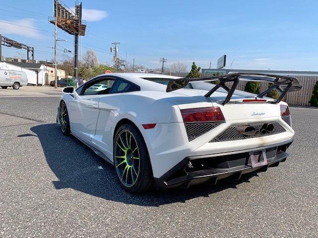 Salvage Car Lamborghini Gallardo 2013 White For Sale In Chalfont Pa